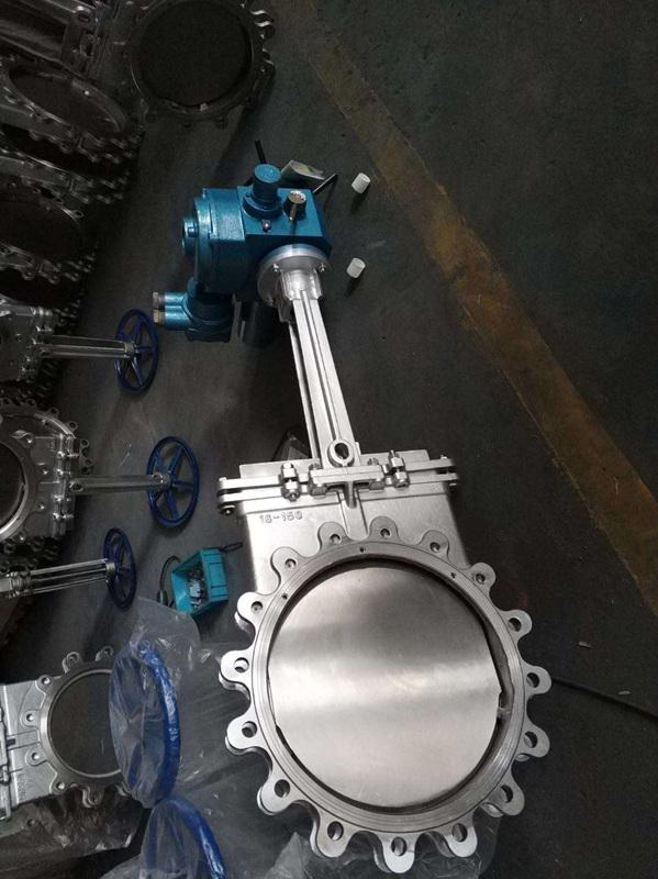 气动不锈钢刀闸阀 PZ673W-10P