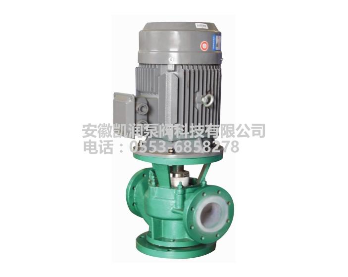 KGF衬氟管道泵