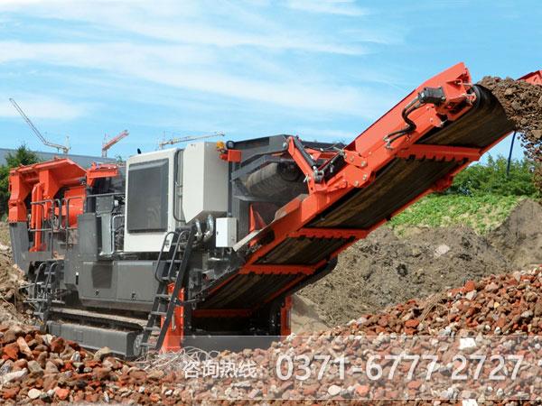 混凝土移动破碎机-资源回收利用创商机ZLL78