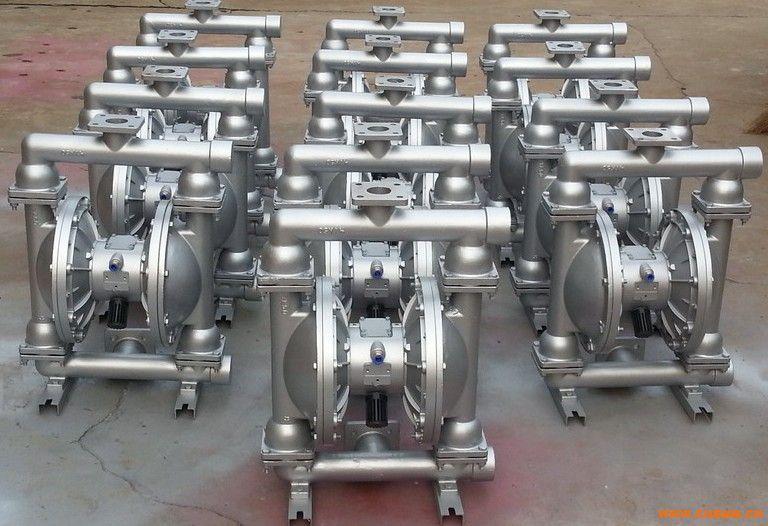 QBY型气动隔膜泵 不锈钢气动隔膜泵