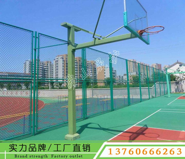 琼中球场护栏网生产商 学校篮球场围栏网
