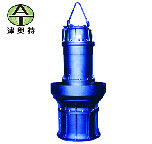 QZB系列潜水轴流泵_封闭式叶轮