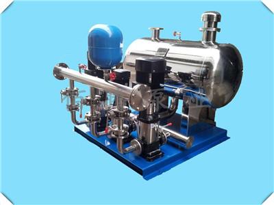 高扬程多级给水泵 轻型立式多级离心泵无负压变频供水设备