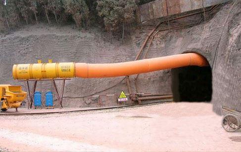 矿用导风筒 风机负压导风筒和利隆产品指南