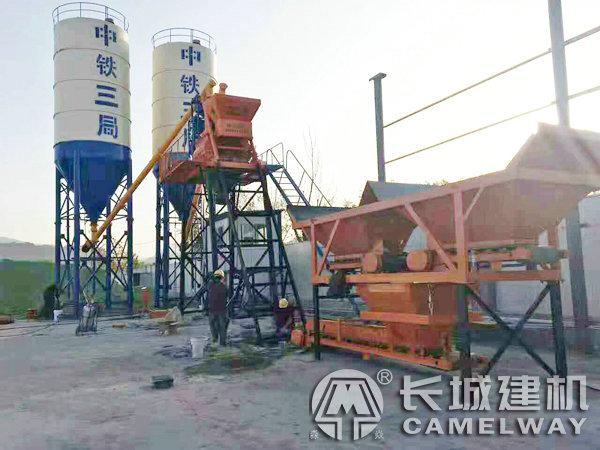 郑州长城建机混凝土搅拌站设备生产商