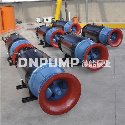 农田灌溉雪橇泵350QZB潜水轴流泵