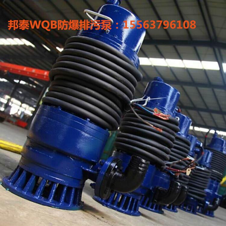 WQB15-25-3防爆排污泵 WQB厂用防爆潜水泵厂家