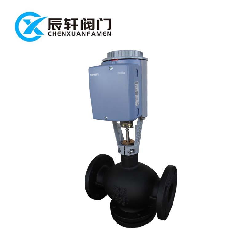西门子温控阀 电动执行器 VVF47  VVF43  VVF42