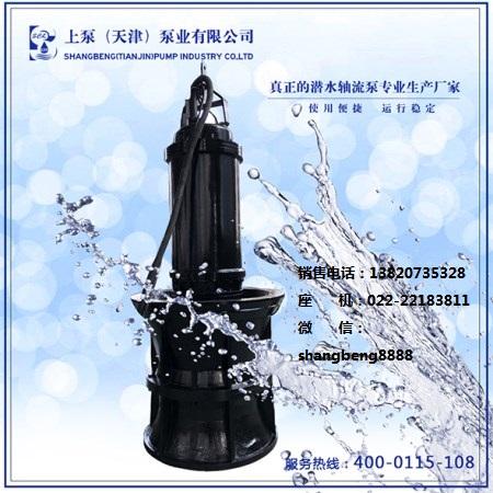 上泵QHB雨季排水潜水混流泵