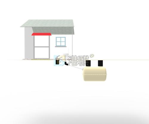 农村小型家用玻璃钢化粪池 农村化粪池防止溢出-港骐