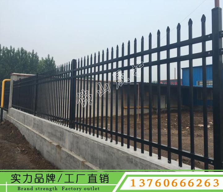 琼中锌钢护栏围栏 锌钢护栏栅栏 围墙铁艺护栏