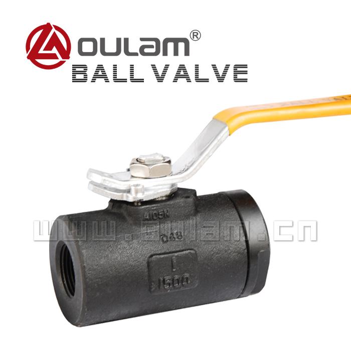 二片式球阀/锻钢球阀Q11F型