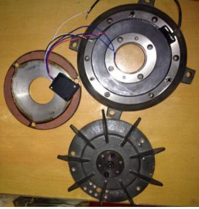 东元2.2KW电机用的刹车一套