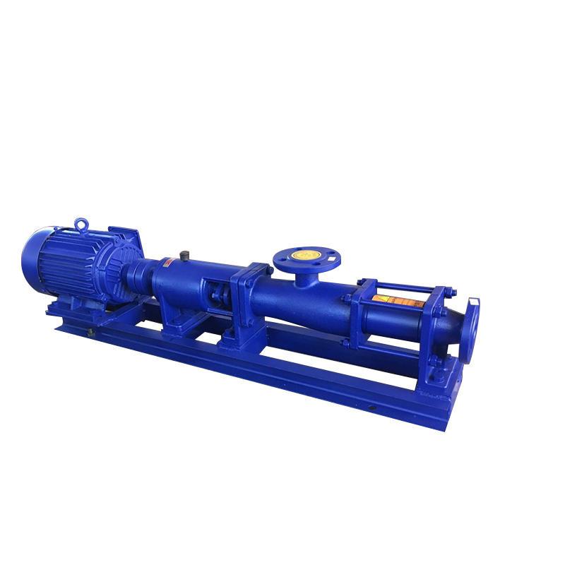 州泉  G型螺杆泵|淤泥污泥螺杆泵|浓浆泵