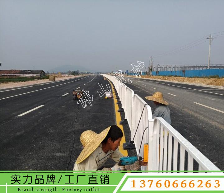 深圳道路护栏图片 深标港式护栏价格 罗湖人行道护栏定做