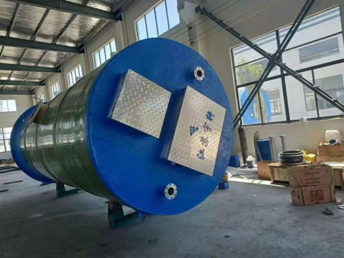 河南郑州一体化预制泵站