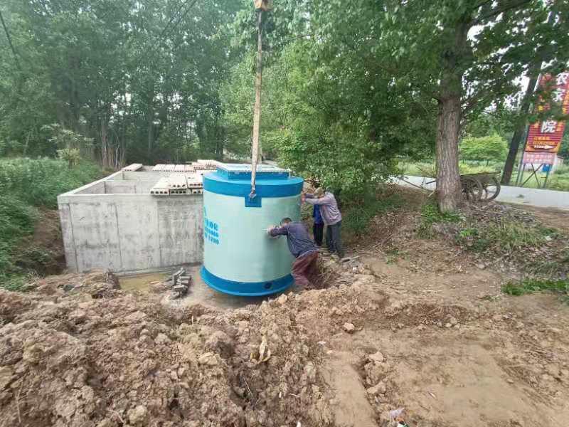 陕西西安一体化预制泵站