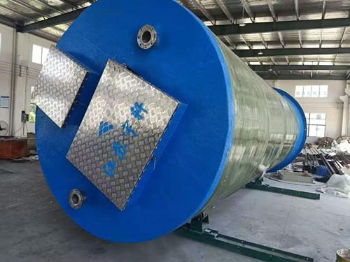 安徽滁州一体化预制泵站