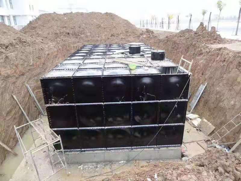安徽蚌埠地埋智能箱泵一体化设备