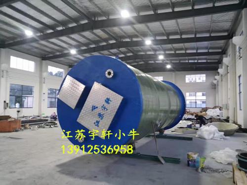 河南南阳一体化预制泵站