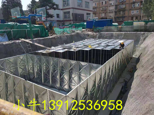 新疆地埋智能箱泵一体化设备