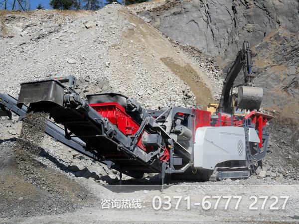 装备齐全,车式石头粉砂机要勇战沙场