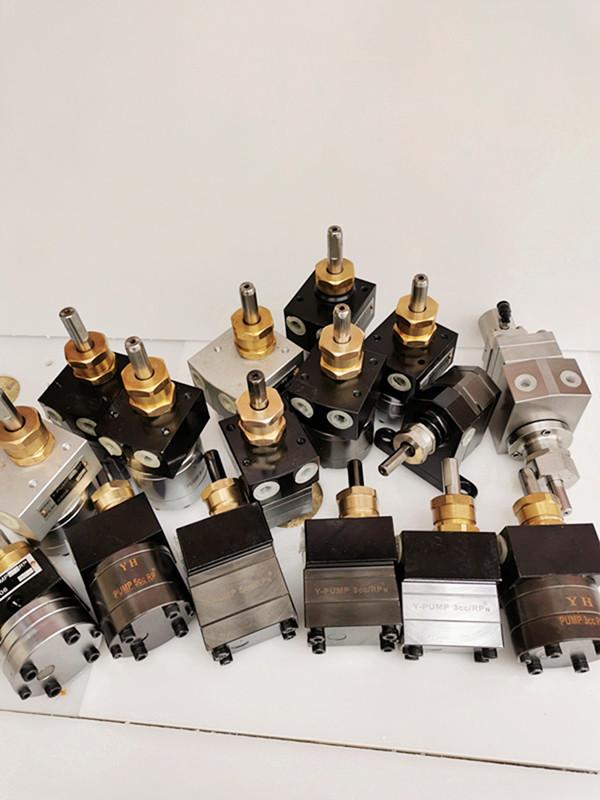 5cc静电喷漆齿轮泵浦