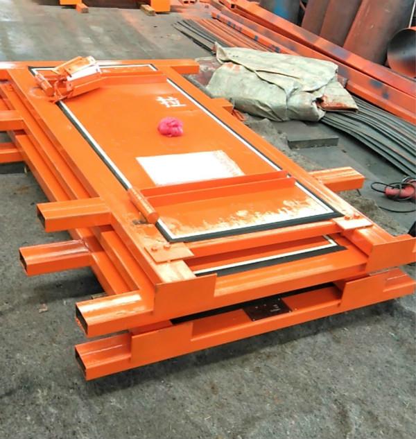 高压阻燃竹胶板风门|煤矿用高强度覆膜竹制风门