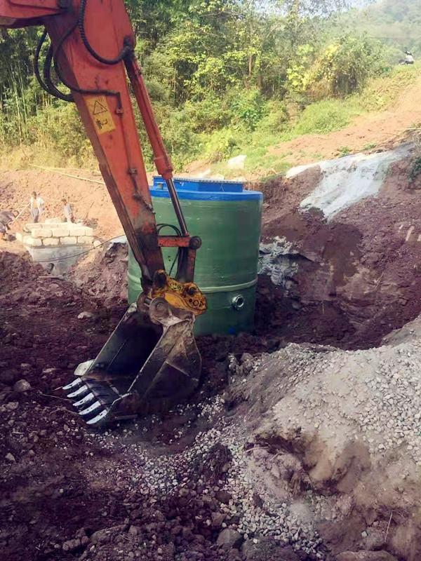 盐城建湖一体化预制泵站厂家