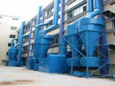 供应ZC-Ⅱ/Ⅲ型机械回转反吹扁带除尘器