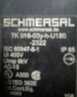 SCHMERSAL拉线开关ZQ700-11库存供应