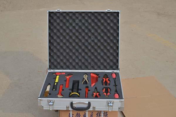 防爆工具组合套装防爆组合工具箱渤防牌铝青铜防爆十八件套