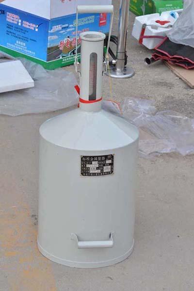 防爆计量桶碳钢不锈钢彩带计量罐10升20升标准金属量器加油站配件