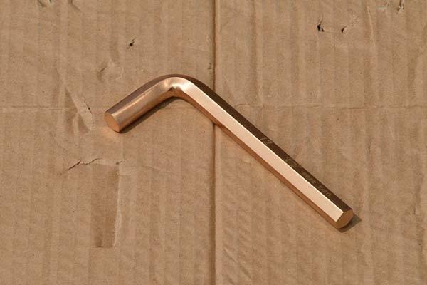 防爆内六角扳手铜质内六角螺丝刀纯铜L型六角扳手防爆扳手