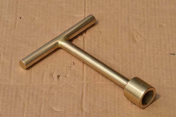防爆氧气瓶扳手 铜合金支持定做防爆铝青铜