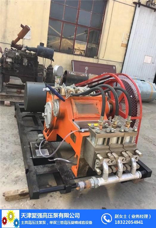 旋喷成套设备及后台高压注浆泵及配件