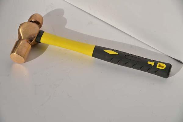 防爆圆头锤铜锤防爆奶头锤铜手锤防爆手锤防爆锤子黄铜圆头锤