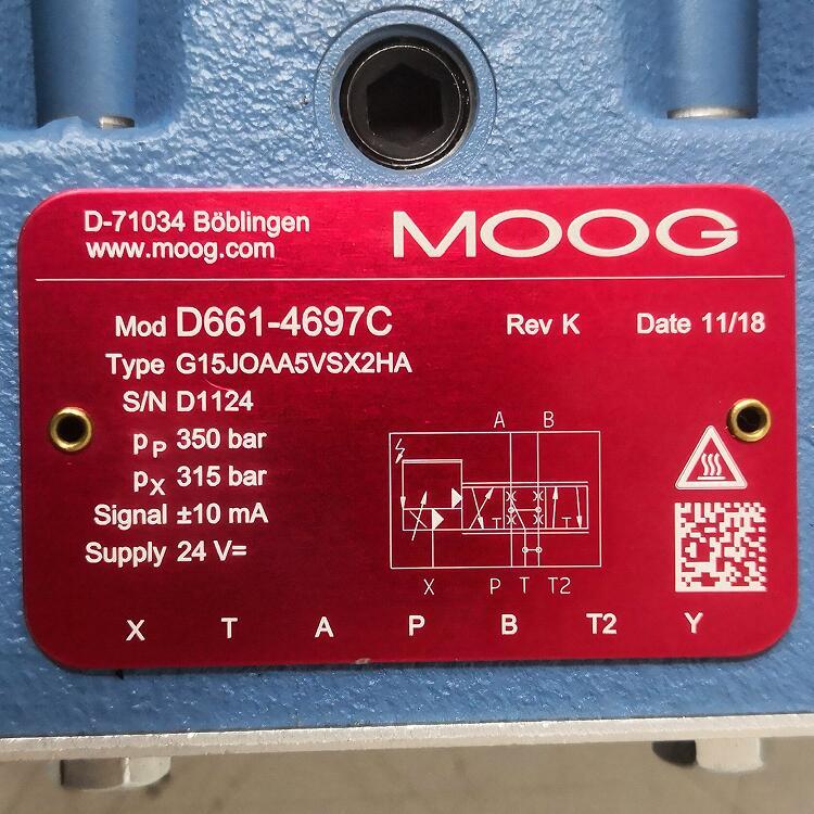 D661-4697C/Moog穆格/伺服阀