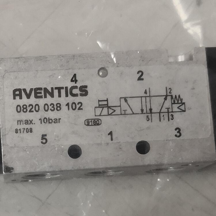 0820038102/Aventics安沃驰/气动阀