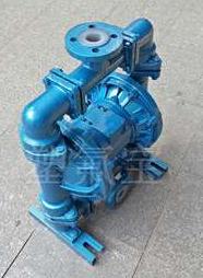 DN25/32钢衬四氟 QBYK流体衬氟气动隔膜泵耐腐蚀耐酸碱泵阀