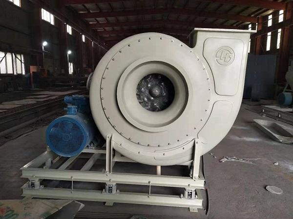环保离心玻璃钢高压防腐风机(HFB900C)