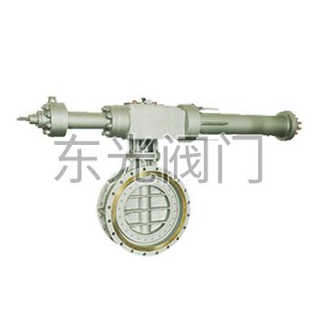 KD7T42/3P型弹簧式(紧急切断)快关蝶阀