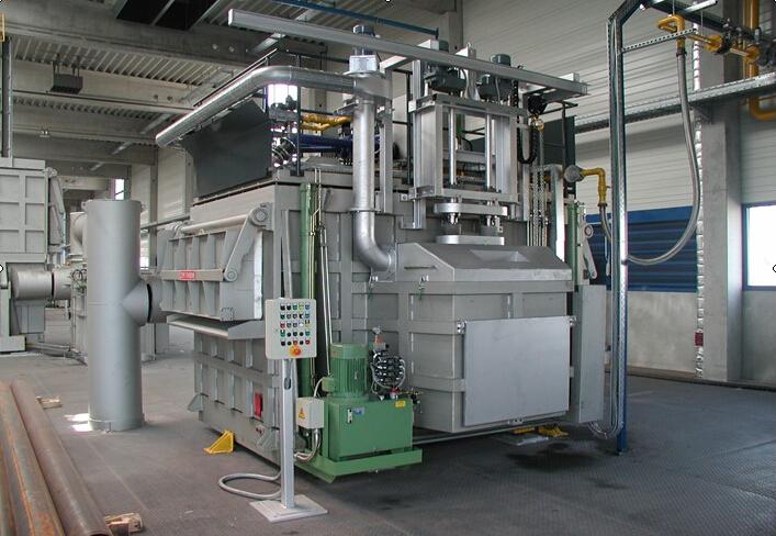 德国ZPF铝屑熔化炉工业炉专业维修