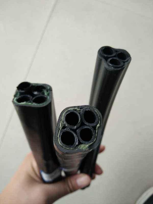 煤矿用聚乙烯束管,4芯束管,PE-ZKW矿用4芯束管