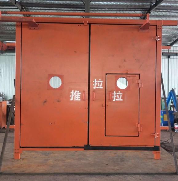 内蒙古矿用竹胶板双向行车风门特点和技术要求