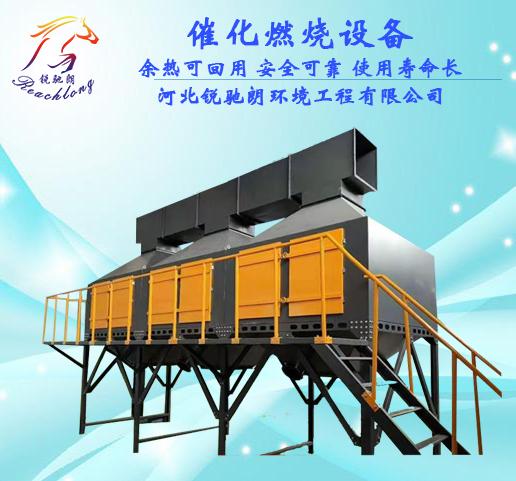 定制催化燃烧设备_喷漆房涂装废气处理设备_催化燃烧有机废气处理设备