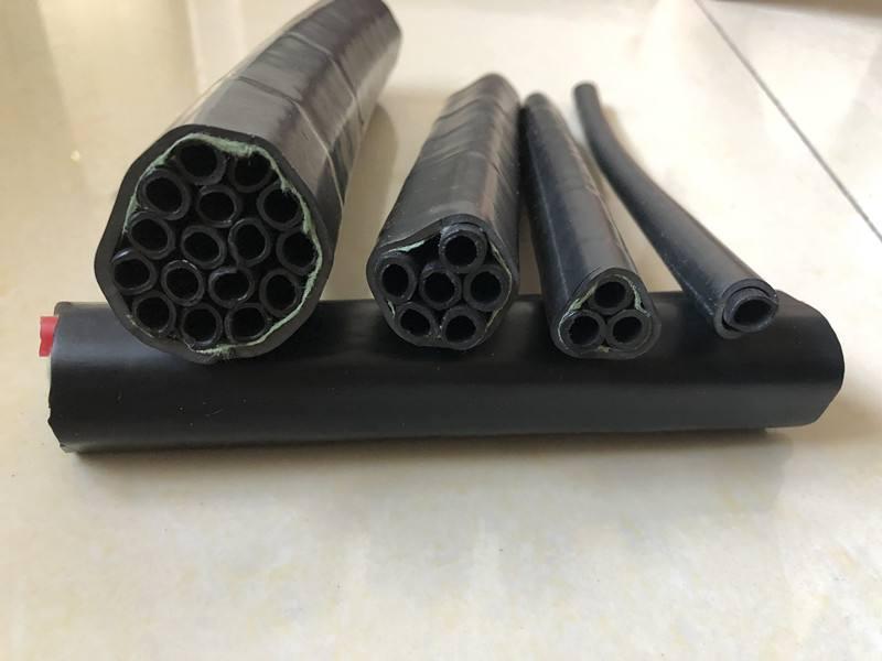 内蒙古单芯束管PE-ZKW/10*1矿用束管