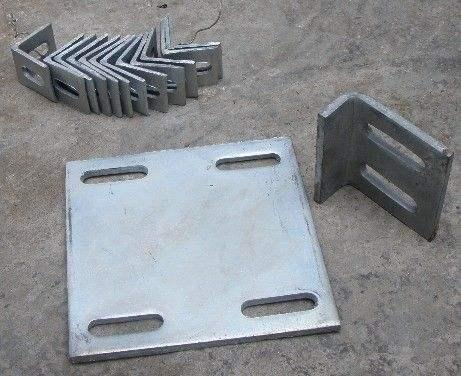 定制预埋件、热镀后置埋板、幕墙配件、角码、预埋件钢板、镀锌预埋件
