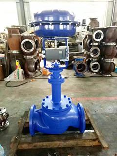 导热油专用气动波纹管调节阀