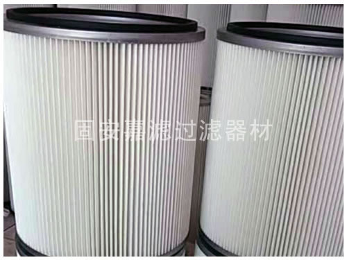 铝厂除尘器3266除尘滤筒滤芯生产厂家定做_嘉滤